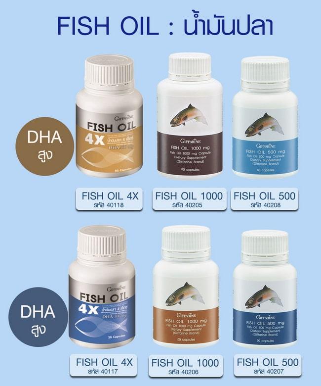 Fish Oil น้ำมันปลา กิฟฟารีน