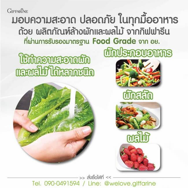 Vegetable & Fruit Wash