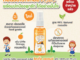 Hygienic Alcohol Spray Little Orange