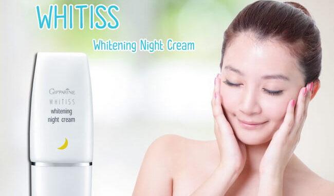 ไวทิสส์ ไวท์เทนนิ่ง ไนท์ครีม, Whitiss Whitening Night Cream