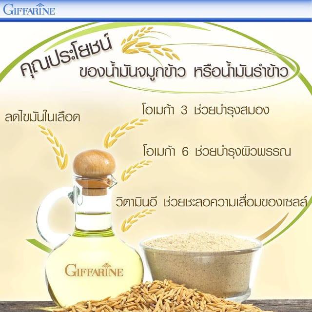 ประโยชน์ของน้ำมันรำข้าว, น้ำมันรำข้าวจมูกข้าว กิฟฟารีน, น้ำมันรำข้าว กิฟฟารีน, ลดความดันโลหิตสูง กิฟฟารีน, น้ํามันรําข้าว ยี่ห้อไหนดี, ลดไขมันในเส้นเลือด กิฟฟารีน