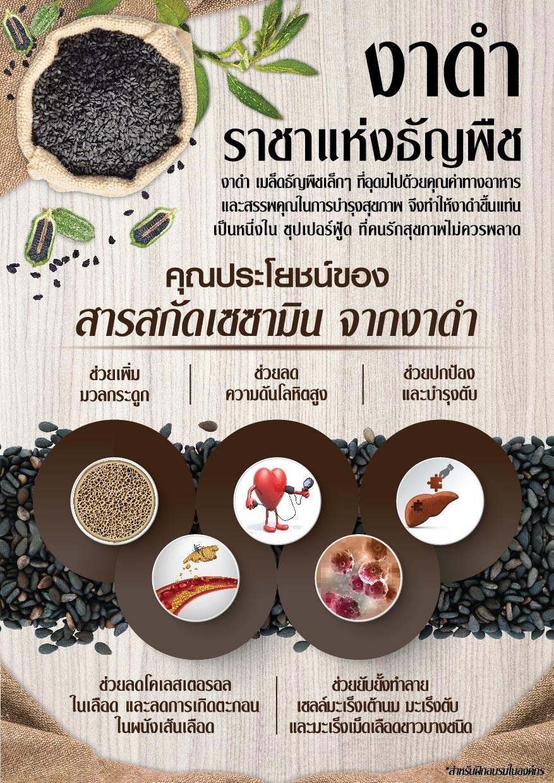 ประโยชน์ของงาดำ,เซซามิ-เอส กิฟฟารีน, เซซามิน กิฟฟารีน, งาดำ กิฟฟารีน, Giffarine Sesamin