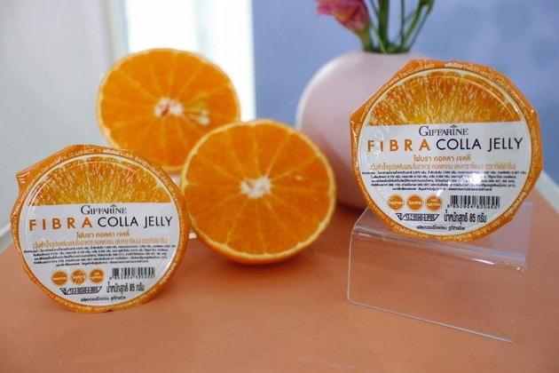 กิฟฟารีน ไฟบรา คอลลา เจลลี่, เจลลี่ กิฟฟารีน, เจลลี่รสส้ม กิฟฟารีน, เยลลี่รสส้ม กิฟฟารีน, วุ้นกิฟฟารีน