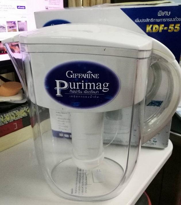 เหยือกกรองน้ำ กิฟฟารีน เพียวริแมก Purimag