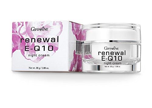 รีนิวเวิล อี คิวเทน ไนท์ ครีม, Giffarine Renewel E-Q10 Night Cream, ไนท์ครีม กิฟฟารีน