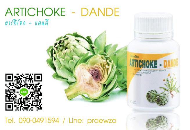 อาร์ทิโชก แดนดี กิฟฟารีน Artichoke Dande_01