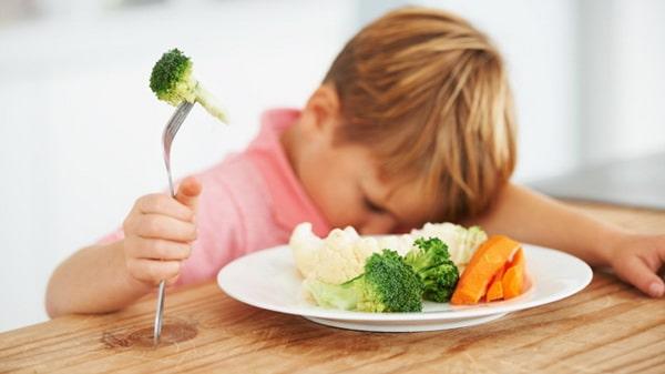 เด็ก ไม่กินผัก