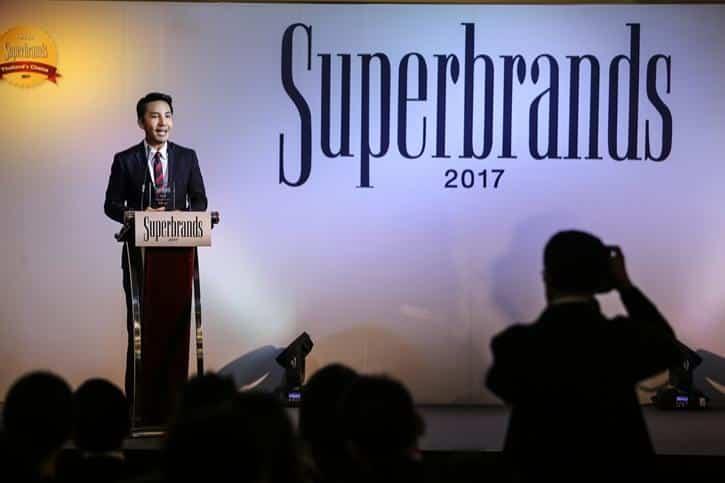 Superbrands Award 2017, สุดยอดแบรนด์, Superbrands